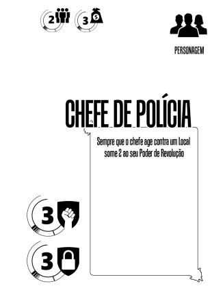 Personagem - Chefe de Policia